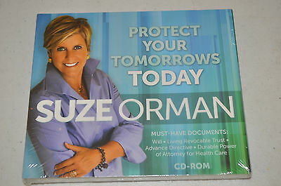 Suze Orman - Protect Your Tomorrows Today, CD-ROM NEW SEALED #118