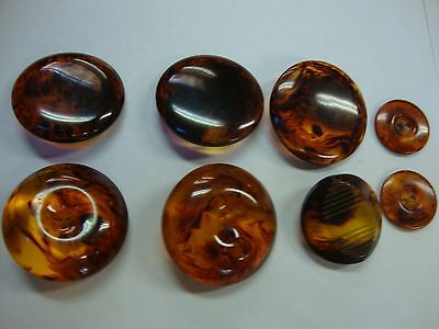 Vintage 8  Buttons - Free Shipping