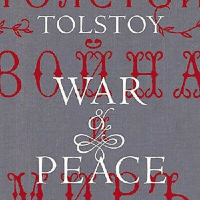 D106  War & Peace Audiobook Collection By Tolstoy On Mp3 Dvd