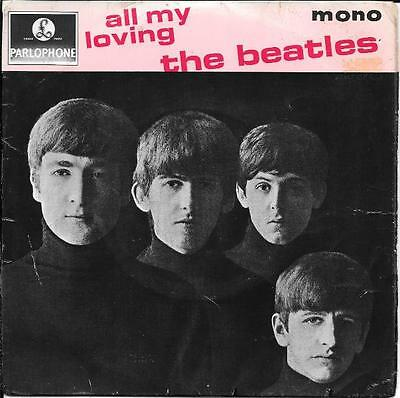 The Beatles 45 Ep All My Loving+Ps England Rare