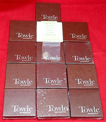 Towle 12 Days of Christmas Sterling Silver CHARM Set IN BOX - Ornament