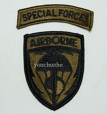 Us United States Special Forces Airborne Embroidered Patch -32269
