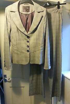 NEXT tall 12 suit jacket and trousers grey