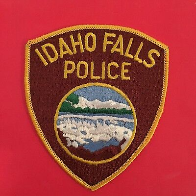 Idaho Falls  Police  Shoulder Patch