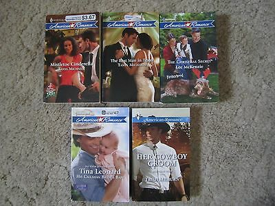 Harlequin American Romance - 2009-2015 - Lot Of 5 Paperback Books
