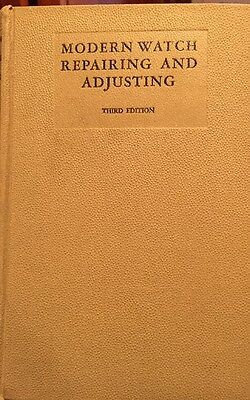 1941 Modern Watch Repairing and Adjusting - John Bowman-Outstanding Condition!