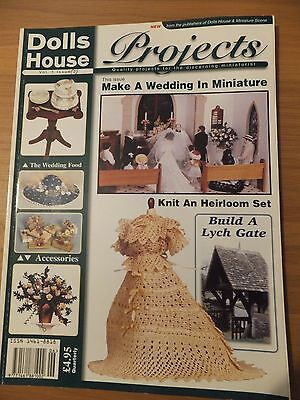 Dolls House Projects Vol 1 Issue 2 THE WEDDING IN MINIATURE