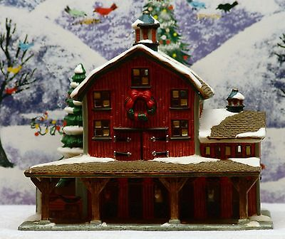 """St Nicholas Square Village Collection """"the Barn"""" ***new***"""