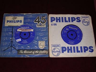 THE CLEVELANDS - JOB LOT 2 x SINGLES - Philips BF 1315 & BF 1342 - 1964