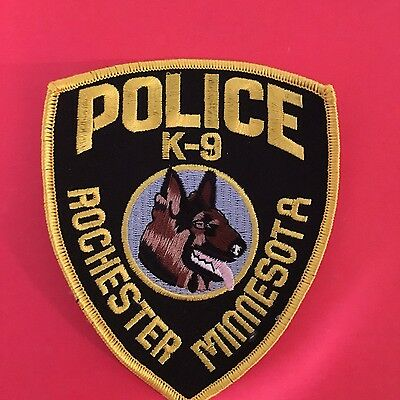 Rochester Minnesota  Police Department K-9 Unit Patch