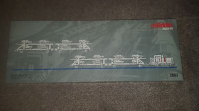 Marklin Digital Ho 2663 Mdt16840 Loco And Car Transporters Set  Mint And Boxed