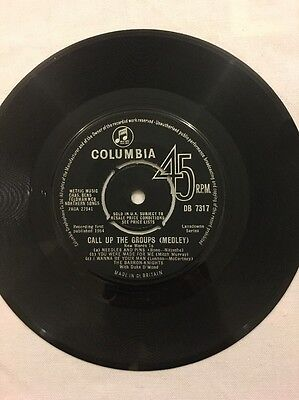 """The Barron Knights - Call Up The Groups - 7"""" Single"""