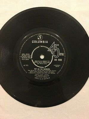 """The Barron Knights - Pop Go The Workers - 7"""" Single"""
