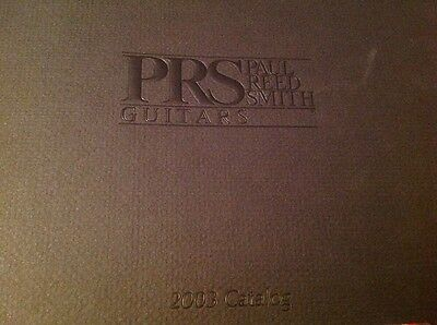 2003 prs PAUL REED SMITH guitar CATALOG VG