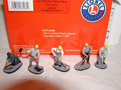 Lionel 6-83168 Iron Workers Figure Pack MIB New 5 Figures O 027 2016