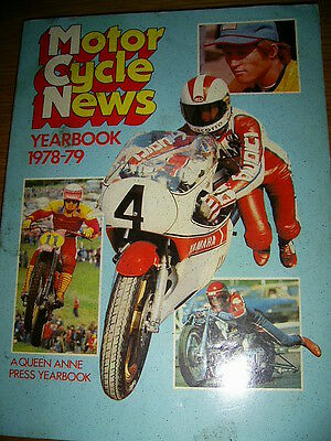 MCN Yearbook 1978 Barry Sheene  Kenny Roberts