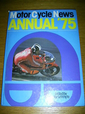 MCN Yearbook 1975 Mick Grant Giacomo Agostini Barry Sheene