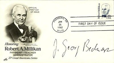 J. Georg Bednorz - First Day Cover Signed