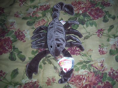 Ty Beanie Babies Baby Stinger The Scorpion Retired