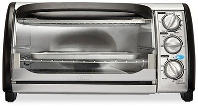 Bella 4-Slice Toaster Oven Toast Bake or Broil #14326 New