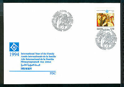 ESTONIA 1994 stamp International Year of the Family on FDC