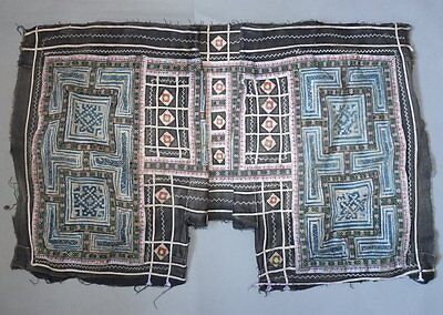 Old Tribal Fabric Clothing Decoration Piece Hmong