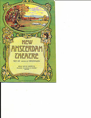 """Theatre Program Otto Kruger """"Trelawny of the Wells"""" 1927 NYC Amazing Cast"""