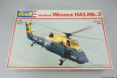 Revell 1/48 Westland Wessex HAS Mk.3 Royal Navy Helikopter 4468 Kit S3251