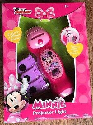 Disney Minnie Mouse Projector Flashlight Project Images On Wall