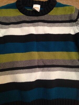 Gymboree 2t Boys Sweater Striped Green Blue Black Gray Shirt  Clothes