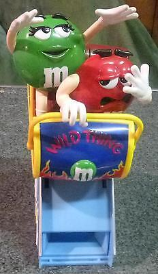M&m's Wild Thing Roller Coaster Candy Dispensor~New~Great Gift