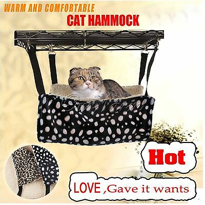 Pet cat Rat Seat Cage Hanging Hammock Small Dog Bed Ferret Cover Puppy Warm Bed