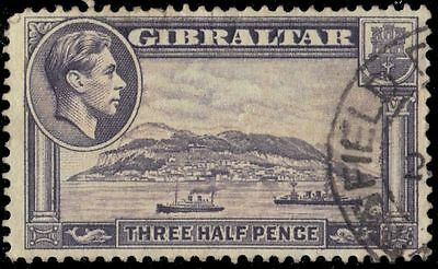 """GIBRALTAR 109A - View of Europa Point """"1943 Printing"""" (pa79316)"""