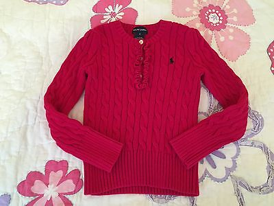 Ralph Lauren Girl Sweater size 6 (may run small for size)