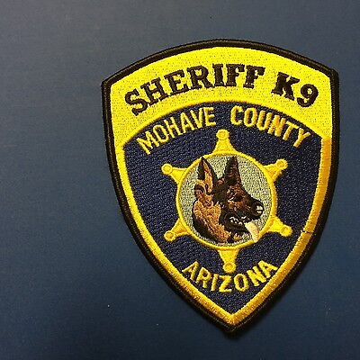 Mohave County Arizona Sheriff K-9  Shoulder Patch