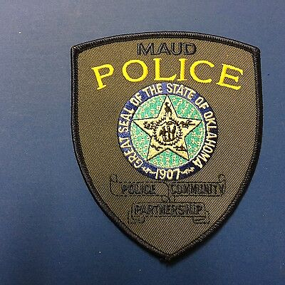 Maud Oklahoma Police   Shoulder Patch
