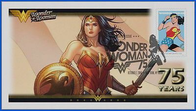Wonder Woman...  DC Comics... First Day Cover 2016 #014
