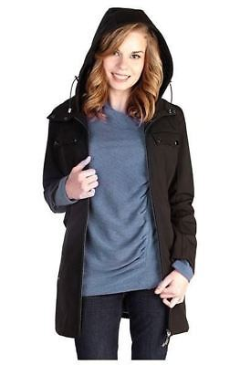 New Mamacoat Japanese Weekend Maternity Mama Coat Jacket Baby Hat &Scarf M 10 12