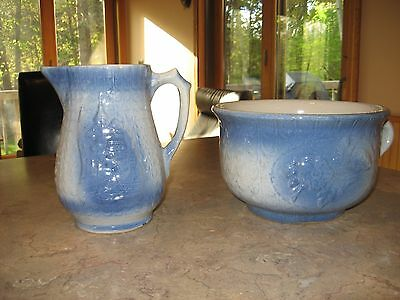 Vintage Chamber Pot and Pitcher