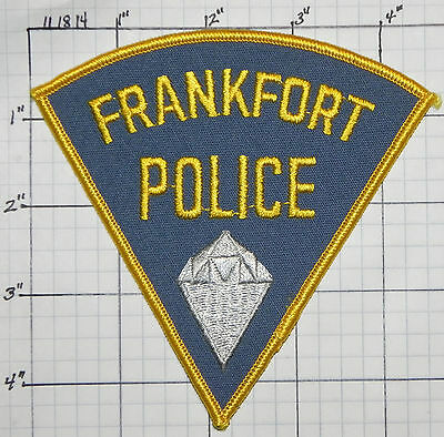 Indiana, Frankfort Police Dept Patch