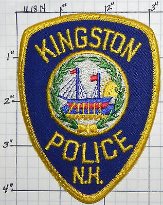 New Hampshire, Kingston Police Dept Patch