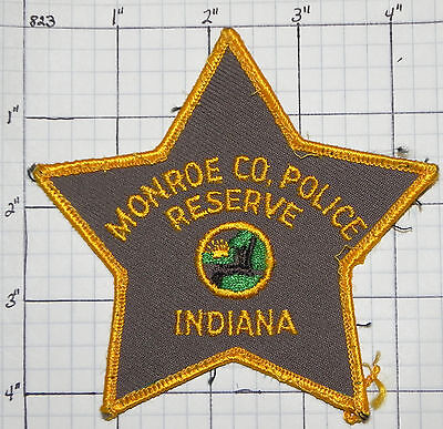Indiana, Monroe County Police Reserve Patch