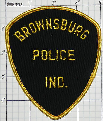 Indiana, Brownsburg Police Dept Patch