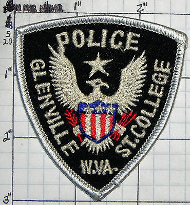 West Virginia, Glenville St. College Police Small Patch