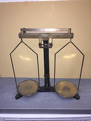 Balance Scale Vintage Laboratory  Antique Industial Steampunk