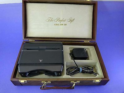 King Inn Medium Format Stereo 3d viewer, lighted with case