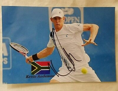 Kevin Anderson US Open Signed Picture