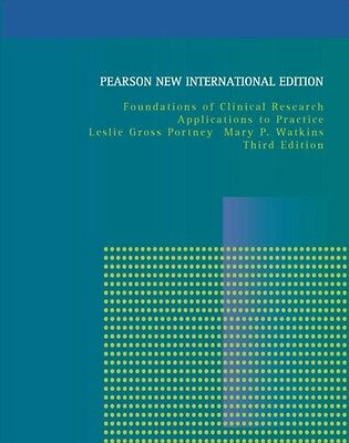 Foundations of Clinical Research: Applications to Practice (Paperback), Portney.