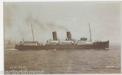 S.S. St. Helier, Shipping RP Postcard, B525