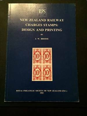New Zealand Railway Charges Stamps: Design and Printing, J.W. Brodie